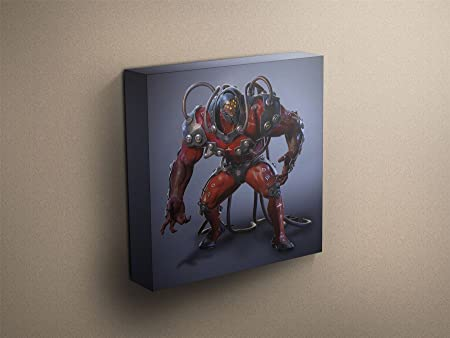 Tekken 7 Gigas Stretched Mounted Canvas Art Print 38 X 38 97 X 97cm Amazon Co Uk Kitchen Home