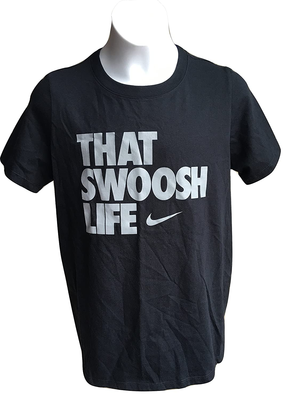 8a0797e7 Amazon.com: Nike Boys That Swoosh Life T Shirt: Clothing
