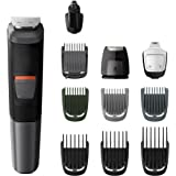 Philips Series 5000 11-in-1 Multi Grooming Kit for Beard, Hair & Body with Nose Trimmer Attachment - MG5730/13