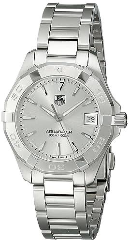 TAG Heuer Women s WAY1311.BA0915 Analog Display Quartz Silver Watch