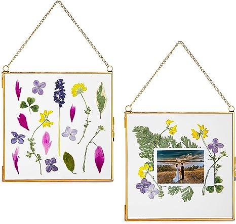 pressed flower frame hanging glass decor table frame flower hanging framed dried flowers pressed plant frame pressed flower