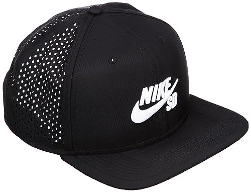 Marca: Nike. Kappe Scateboard Performance Trucker Gorra de Tenis, Unisex, Negro, Talla única: Amazon.es: Zapatos y complementos