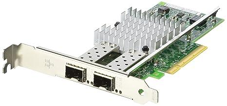 Intel Adaptador DE Red ETHERNET CONVERGED Network Adapter X520-DA2 PCIE 2.0 X8 Perfil BAJO - 10GB ETHERNET/FCOE SFP+ X 2