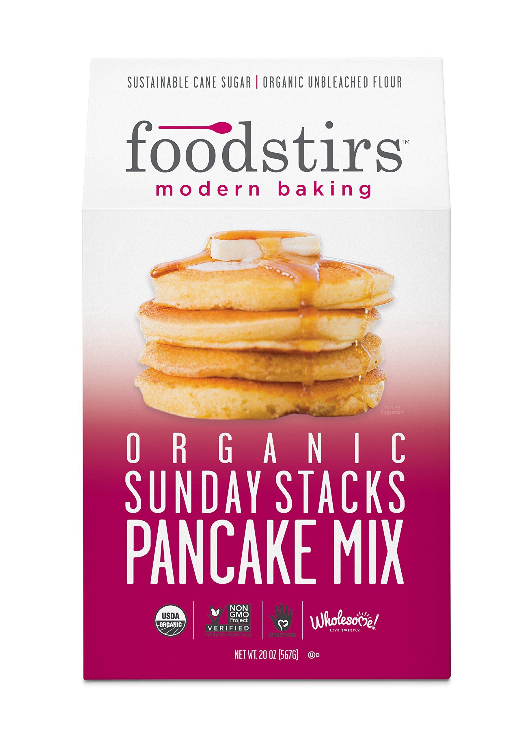 Foodstirs Organic Sunday Stacks Pancake Mix 20 Ounce