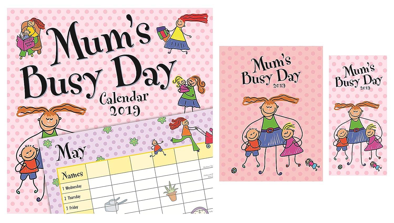 Calendario de día para mamá y diario 2019 con calendario de ...