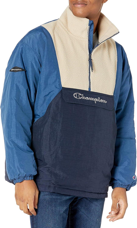 Champion Men's Jacket Seasonal Wrap Introduction Sherpa Long-awaited