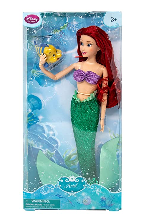 aabbc8a4b1f86 Image Unavailable. Image not available for. Color: DISNEY STORE ARIEL  CLASSIC DOLL ...