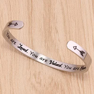 customize Birthday gift Find your tribe Love them hard -initial Bracelet long Distance gifts No matter where for her friendship gift
