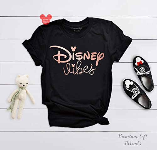 a5221d15 Disney Vibes Shirt, Women's Disney Shirt, Disney Matching T-Shirts, Unisex  Disney Vacation Tanks