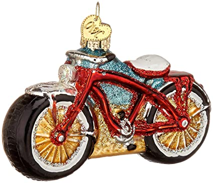 old world christmas ornaments cruiser bike glass blown ornaments for christmas tree