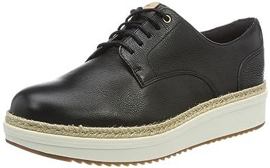 4c628eff6cf CLARKS Teadale Rhea Womens Shoes 7.5 B(M) US Women Black Leather