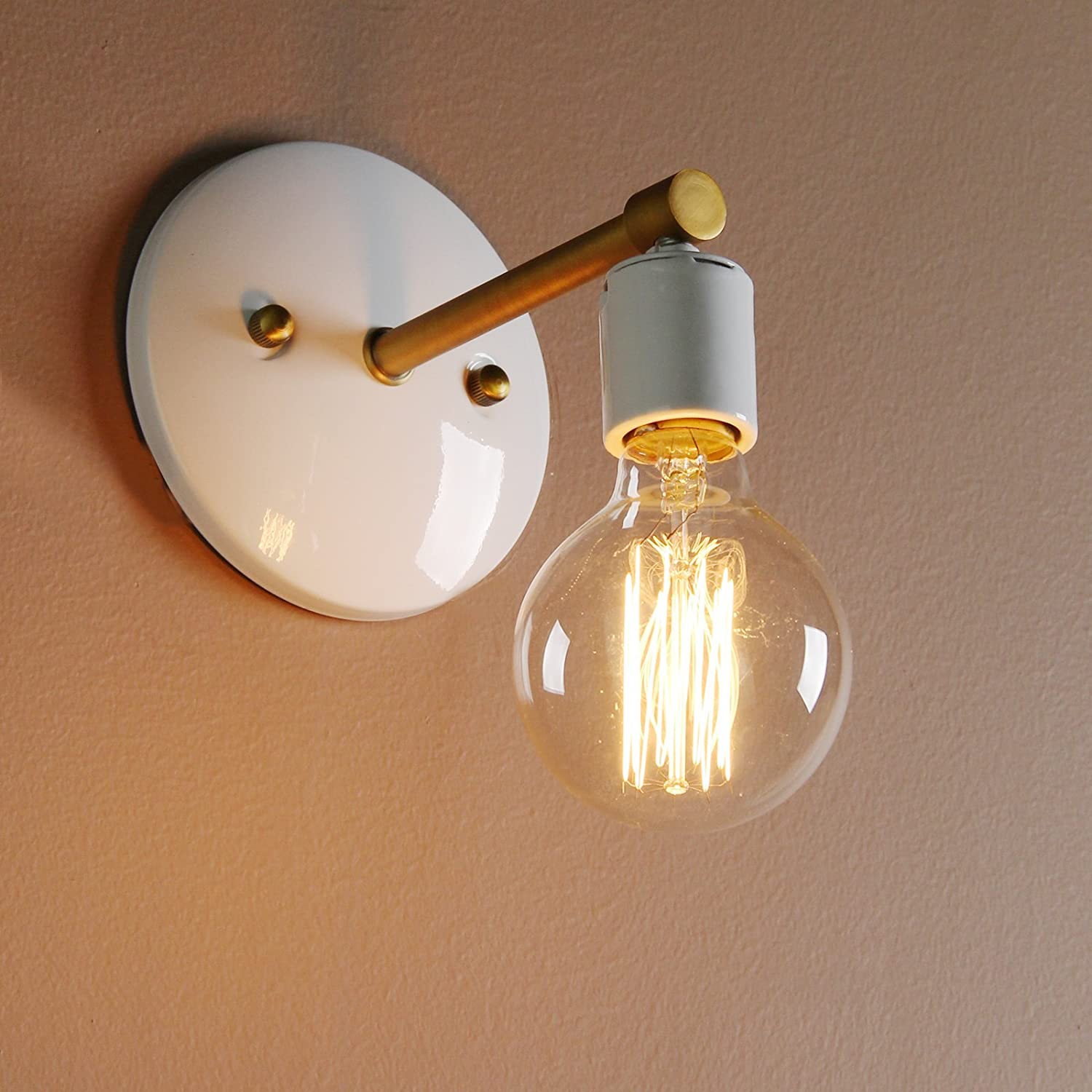 style industrial vintage moreview lighting light wall sconce lightbox clear glass edison main