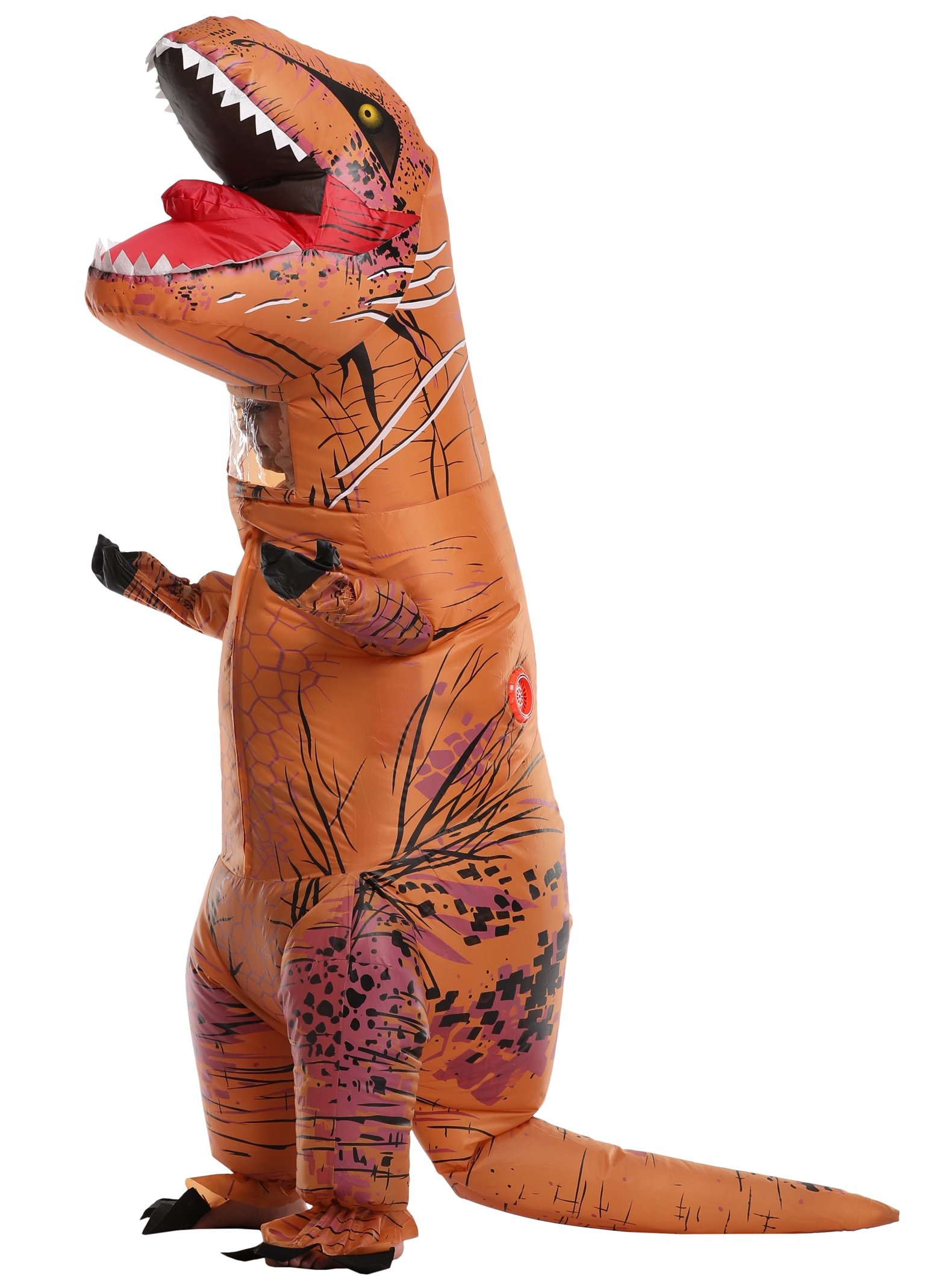 SASALO Kids Inflatable T-Rex Costume Jurassic World Dinosaur Blow Up Suit