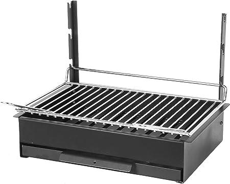 Barbecue grilloir à poser charbon Le Marquier Vulcain acier