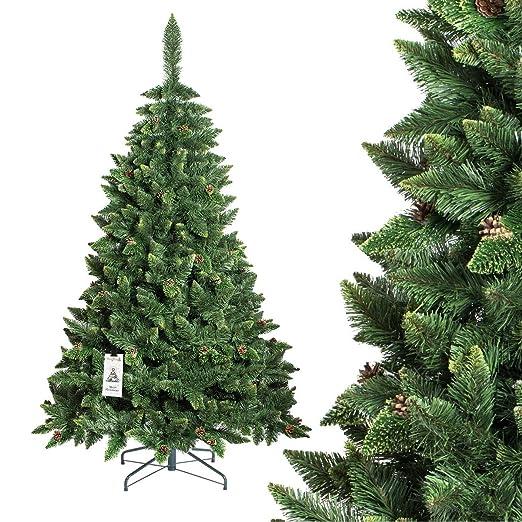 357 opinioni per FAIRYTREES Albero di Natale artificiale PINO, verde naturale, materiale PVC,
