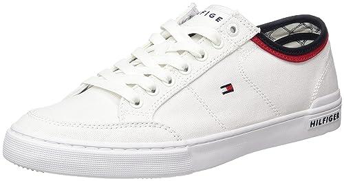Tommy Hilfiger Core Corporate Textile Sneaker, Zapatillas para Hombre: Amazon.es: Zapatos y complementos