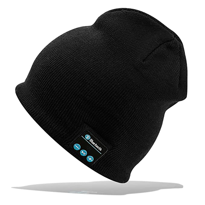Gorra Bluetooth Hat Cap Auriculares Estéreo 4.2 Gorrita tejida Inalámbrica  Conveniente para Deportes al aire libre 75d27311ab4