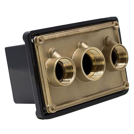 amazon com pentair 78310700 1 inch black junction box port