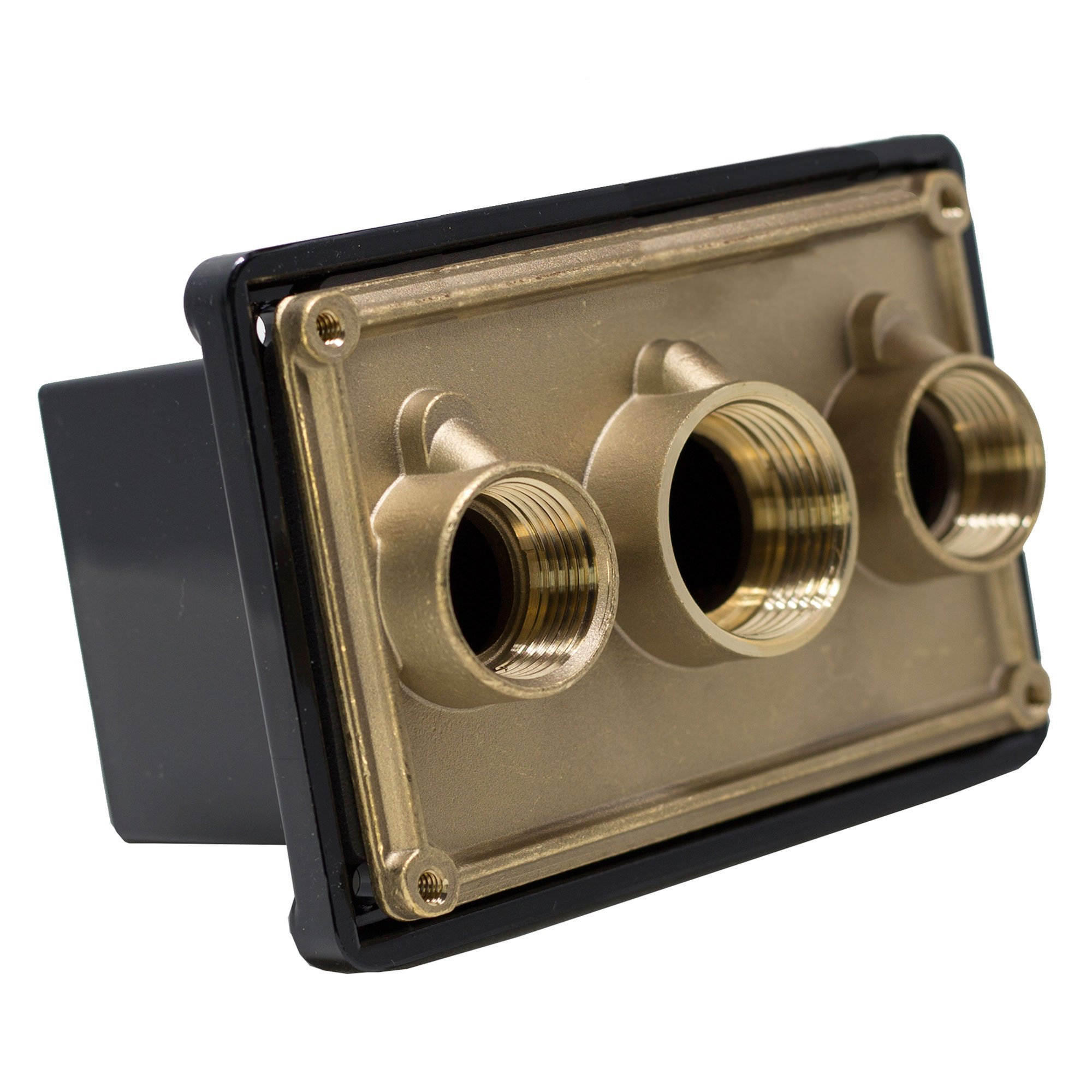Pentair 78310700 1-Inch Black Junction Box Port Replacement Pool and Spa Light Systems
