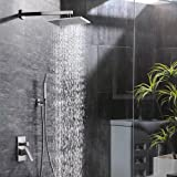 Amazon.com: Atlantis 7 Rain Shower Head System, Brushed