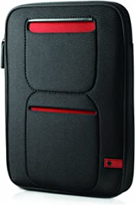 HP Tablet Sleeve - Black with Red Trim