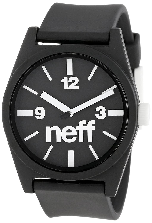 [ネフ]neff 腕時計 デイリー アナログ 5気圧防水 ブラック NF0201 BLCK 【正規輸入品】 B006WTHQ6O
