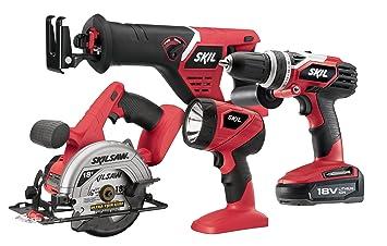 Skil 2898Li - 20 18 V de Ion de litio 4-Tool y accesorios: Amazon.es: Bricolaje y herramientas