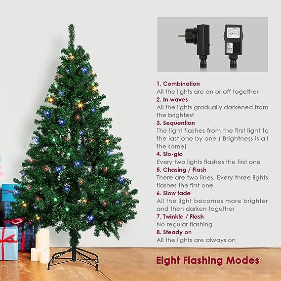 Amzdeal Weihnachtsbaum, Künstlicher Weihnachtsbaum Tannenbaum ...