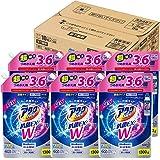 【ケース販売】アタックNeo 抗菌EX Wパワー 洗濯洗剤 濃縮液体 詰替用 大容量 1300g(3.6倍分)×6個