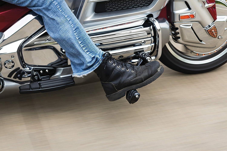 Kuryakyn 7060 Gloss Black Motorcycle Foot Controls