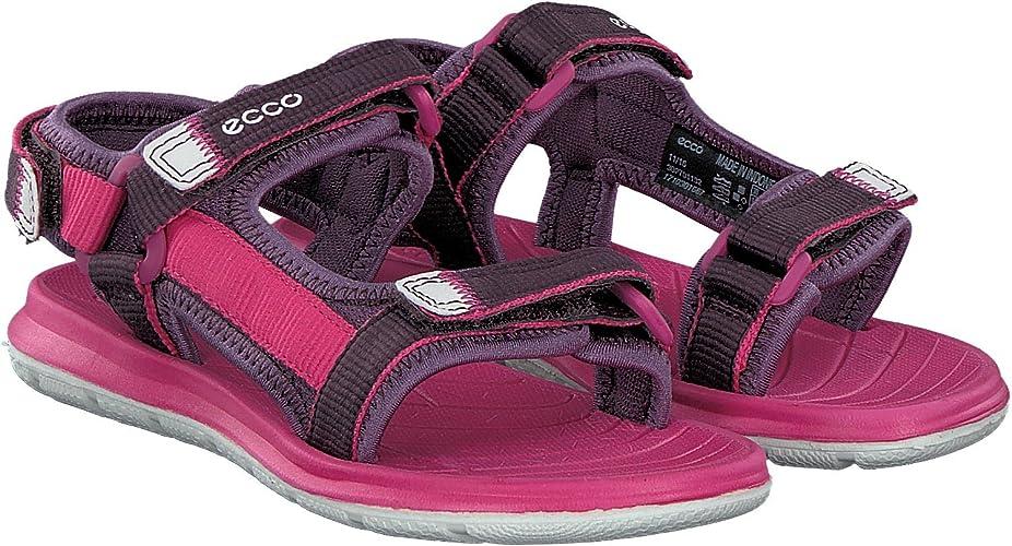 ECCO Mädchen Intrinsic Lite Offene Sandalen mit Keilabsatz