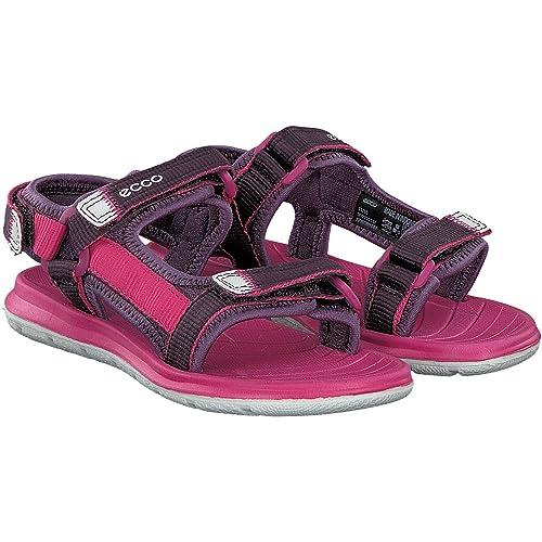 4c6ed45ac81d ECCO Girls Intrinsic Lite Open-Toe Sandals Size  1 UK