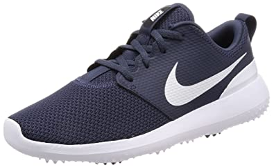 NIKE Roshe G Spikeless Golf Shoes 2018 Thunder Blue/White Medium 7