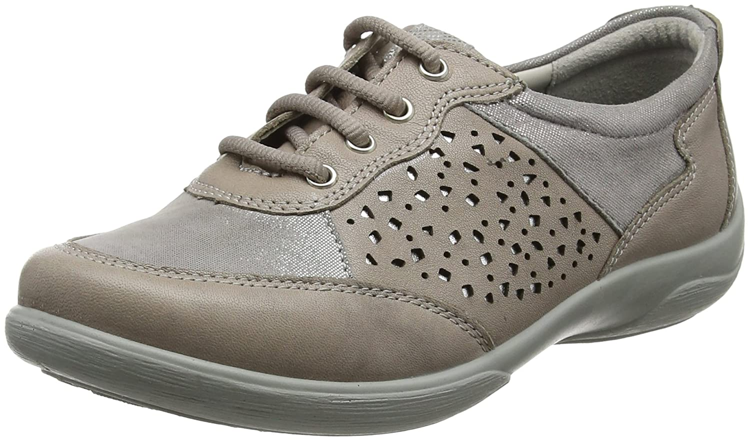 Padders Damen Oxfords, Harp Oxfords, Damen Grau (Grau Multi 97) 82f4a5