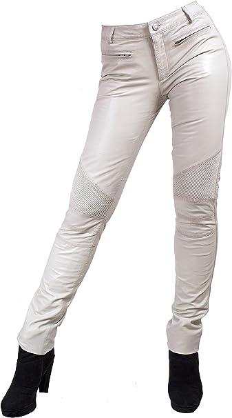 Unbekannt Yonna Damen Lederhose aus echtem Lamm Nappa Leder in diversen Farben