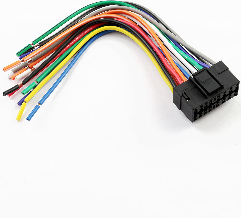 [DIAGRAM_1JK]  Amazon.com: XScorpion JVC16000 Universal 16-Pin Wiring Harness with  Aftermarket Stereo Plugs for Jvc   Jvc Car Audio Wiring Harness      Amazon.com