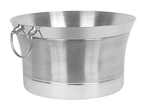 Amazon.com: Bañera redonda de doble pared, S: Kitchen & Dining