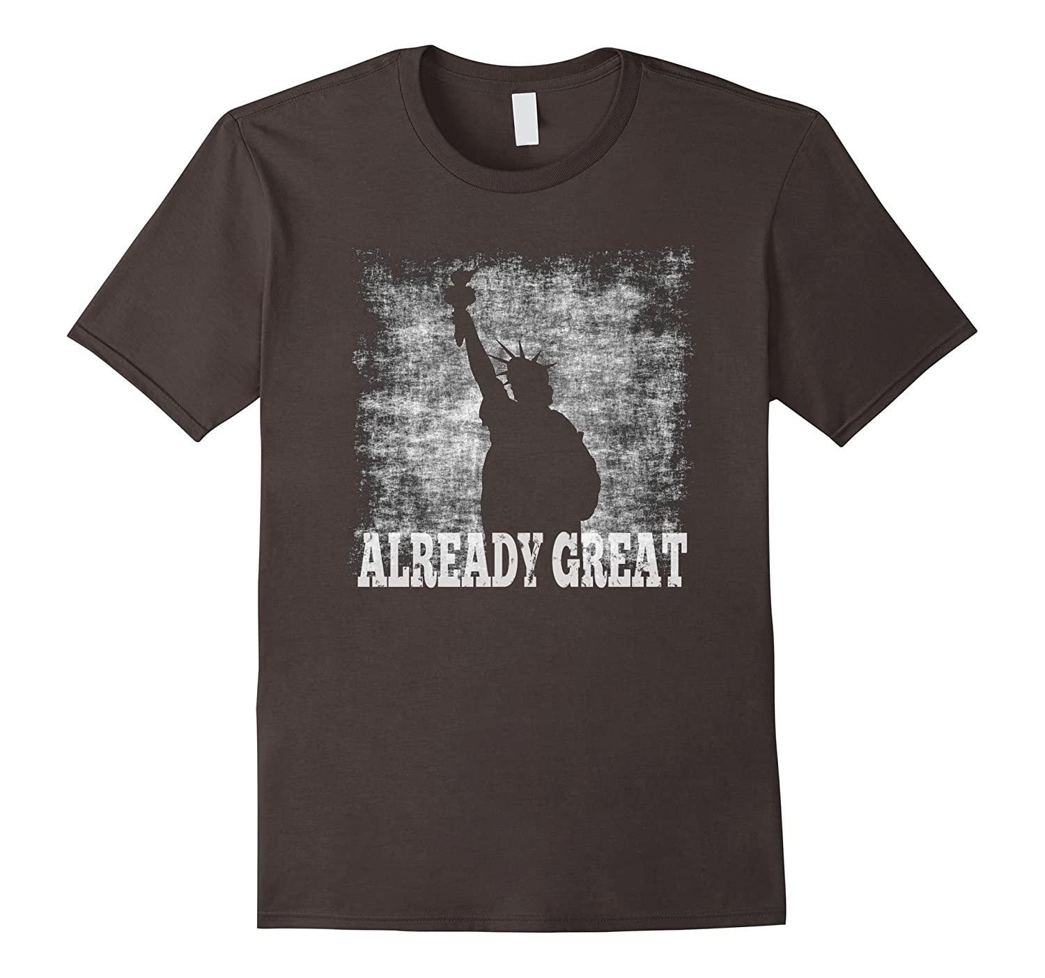 America Is Already Great T-Shirt - Patriotic American Tee-Art
