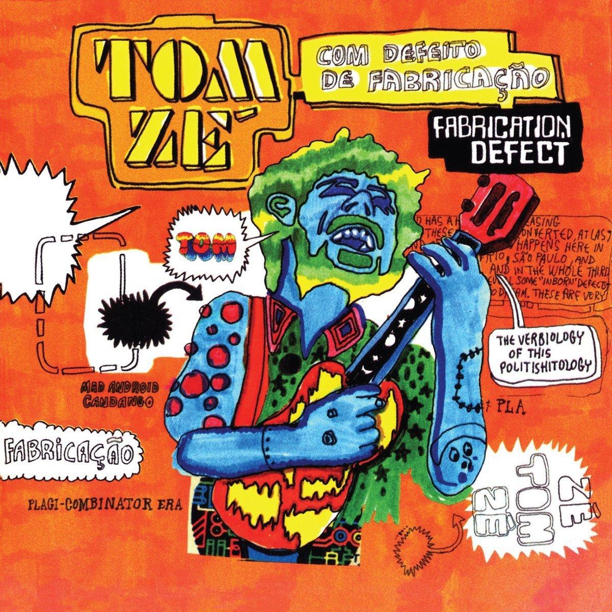 Vinilo : Tom Zé - Fabrication Defect (LP Vinyl)