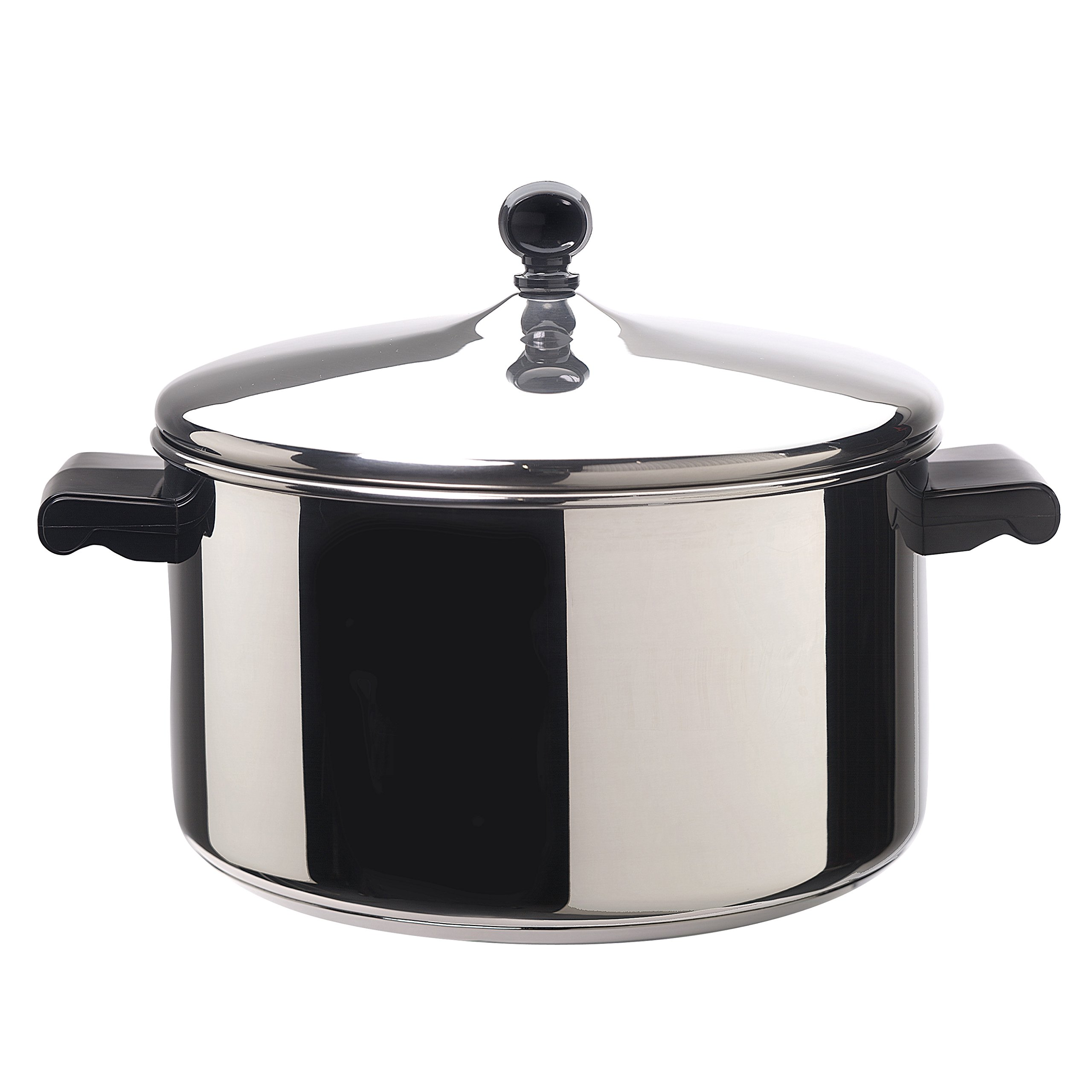 Farberware Classic Stainless Steel 6-Quart Covered Stockpot by Farberware