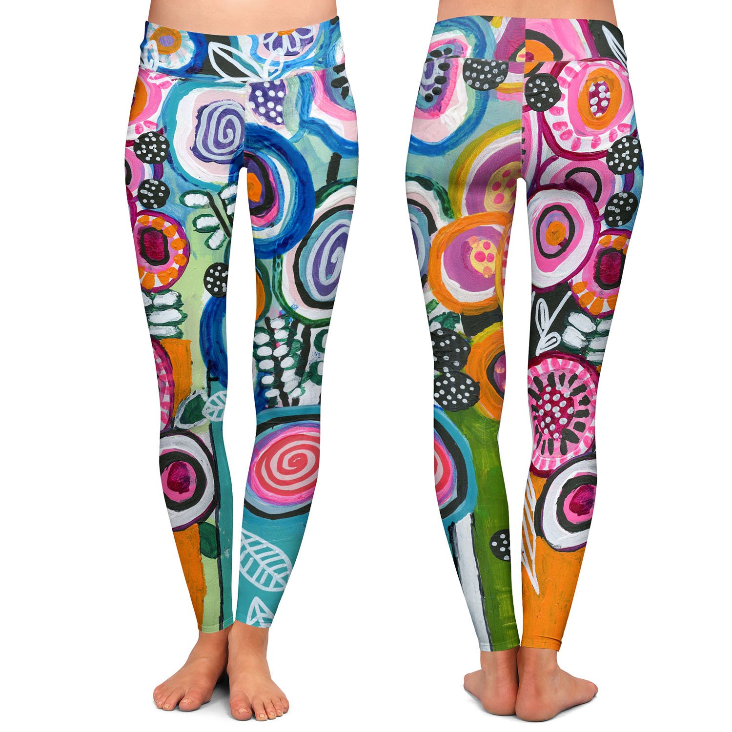 Athletic Yoga Leggings from DiaNoche Designs by Robin Mead Still Life 3