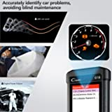 Launch Creader CR619 Automotive ABS SRS Obd2 Obd ii Scanner Check Car Engine ABS Airbag Light Fault Code Readers Auto Dignostic Scan Tool with EVAP O2 On-board Test