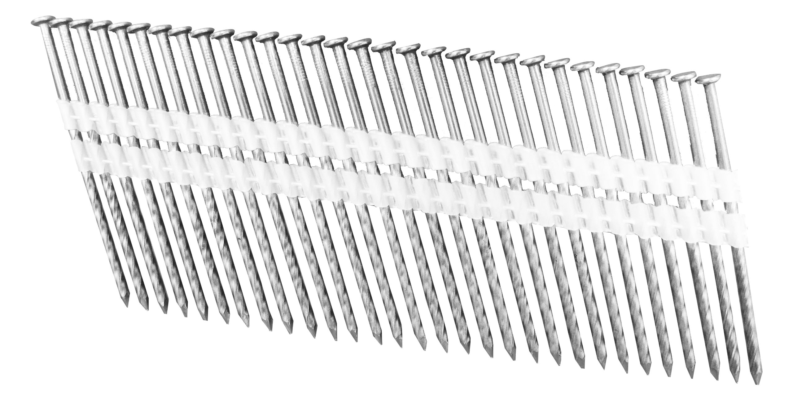 Fasco FP454820SHDE 5-1/8-Inch by .148-Inch Screw Shank Hot Dipped Galv Jumbo Nails for Fasco and Bostitch Nailers, 1250-Piece