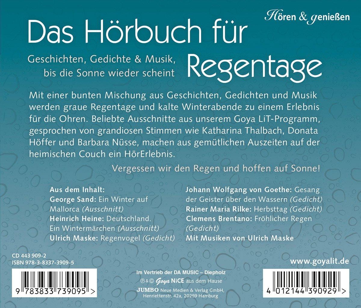 Various Das Hörbuch Für Regentagegeschichten Gedichte