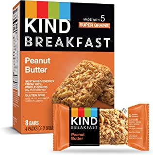 product image for KIND Breakfast Bars, Peanut Butter, Gluten Free, 1.8oz, 24 Count