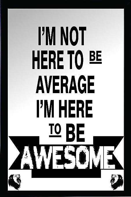 Green Panda Motivational Inspirational Success Quotes Framed I Am