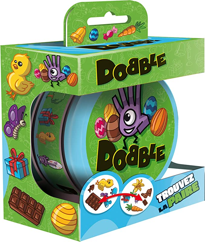 Asmodee- Dobble Mini, DOBEAST01FRM