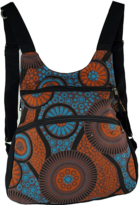 Guru Shop De guru shop mochila mochila mochila de ocio bolso hippie negro