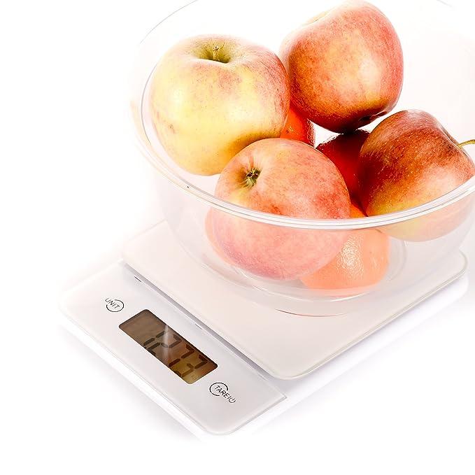 Báscula digital de cocina de KitchenAid Hitachi: gramos de precisa ...