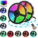 Tatufy 32.8-Foot RGB LED Strip Light